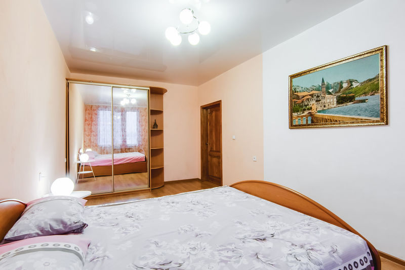 Indoors  Window Home Interior Domestic Room No People Architecture Furniture Lighting Equipment Bedroom Built Structure Bed Wall - Building Feature Technology Day Illuminated House White Color Building Table Home Ceiling Electric Lamp