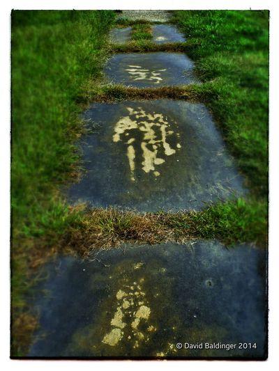 Sidewalk Walking Around Smalltownusa Detail