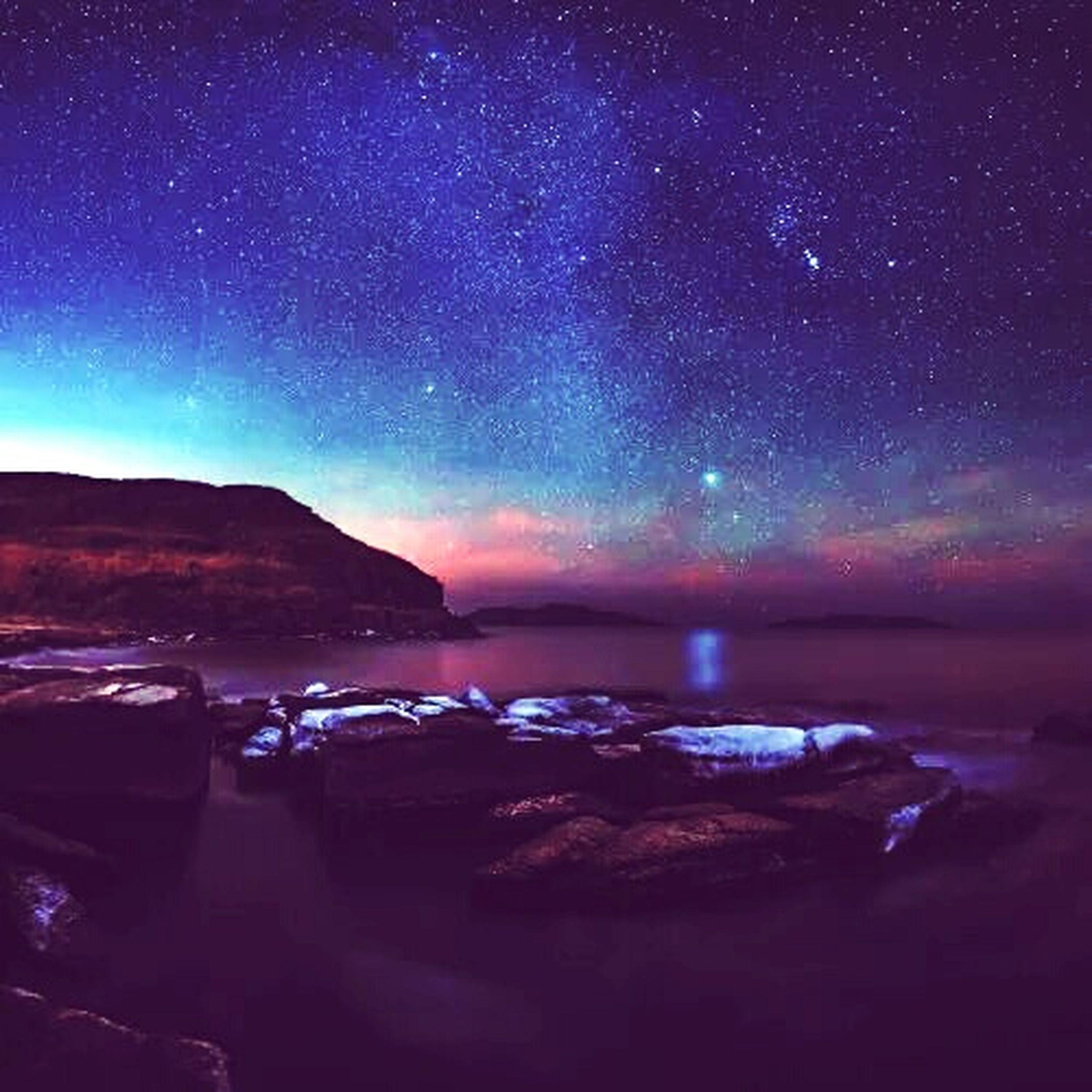 night, star - space, sky, scenics, star field, tranquil scene, astronomy, beauty in nature, tranquility, galaxy, nature, star, mountain, space, dark, idyllic, majestic, milky way, landscape, illuminated