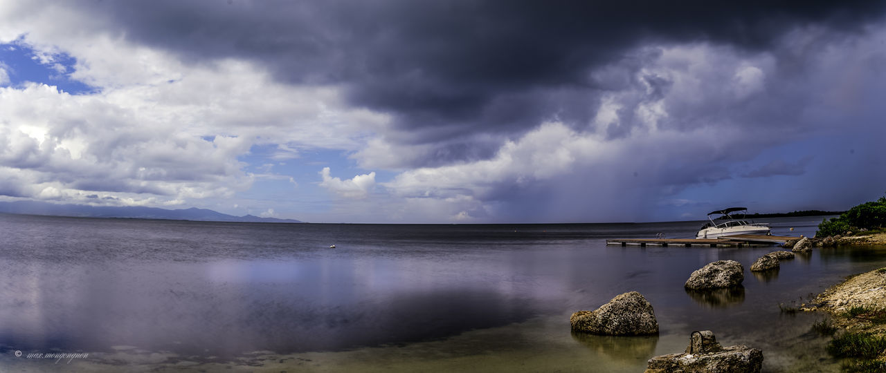 Beauty In Nature Cloud - Sky Day Dramatic Sky Extreme Weather Guadeloupe River Guadeloupe-F.W.I Guadeloupeislands Landscape Landscape #Nature #photography Landscape_photography Nature No People Outdoors Storm Storm Cloud Thunderstorm