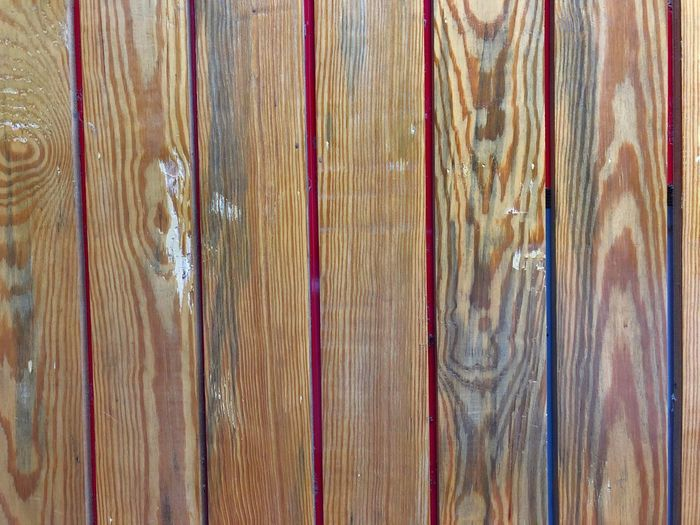 Full Frame Backgrounds Pattern Wood - Material No People Textured  Brown Wood Close-up Plank Indoors  Day Wood Grain Side By Side Weathered Still Life High Angle View Rough Old
