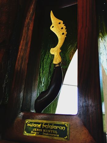 Sunda traditional knive Sunda Kujang Bogor INDONESIA Traditional Traditional Culture Traditional Costume Ozzypicture