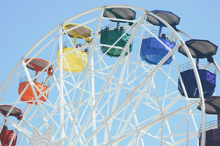 EyeEm Selects Arts Culture And Entertainment Amusement Park Ferris Wheel Leisure Activity Amusement Park Ride Fun Low Angle View Sky No People Day Outdoors Barcelona