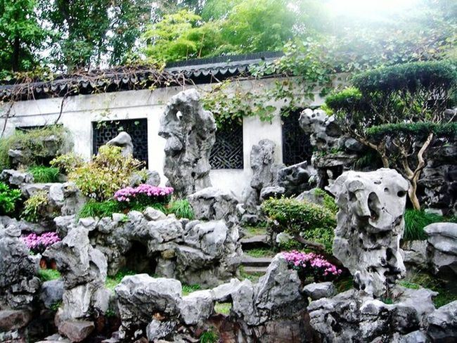 Ancient Chinese Building Ancient China Old China Beautiful Garden Old Shanghai Beautiful Nature Stone Art Stone Garden