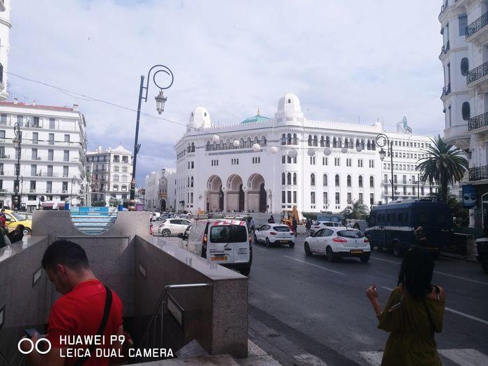 Grand Poste Algiers. Politics And Government City Sky First Eyeem Photo