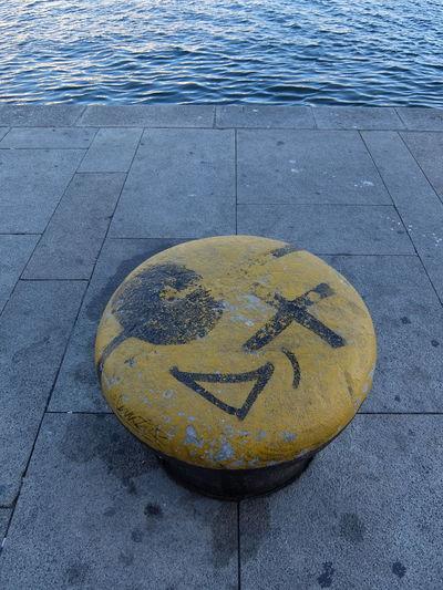 Geometric Shape No People Outdoors Street Water Yellow Streetphotography_fujifilm Fine Art Photography