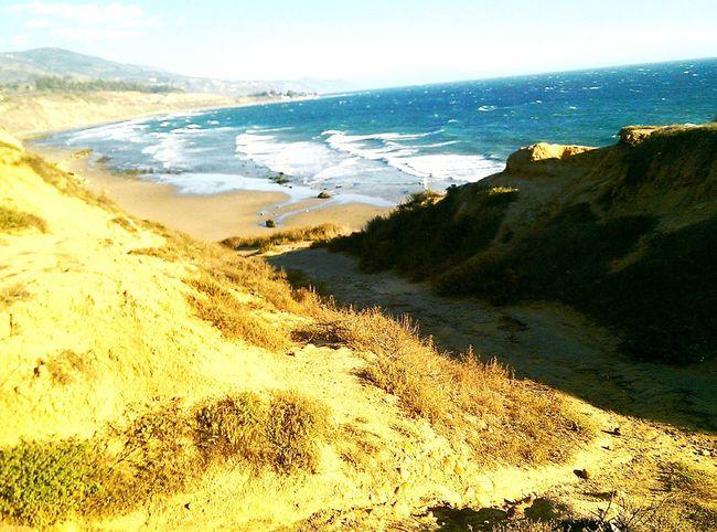 From sea to shining sea... Ocean Beautiful Nature Beach America Carpinteria California Pacific Ocean