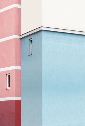 Architecture Architecture_collection Past Pastel Power Perspective Pink Urban Geometry Architecture Asymmetry Building Exterior Built Structure Day Geometry Minimalism Outdoors Pastel Colors Peach Repetition Salmon The Graphic City