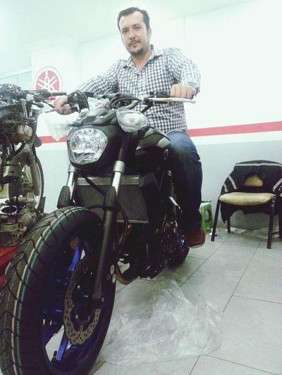 Aşk... Yamaha Mt-07 Street Bike In Adana