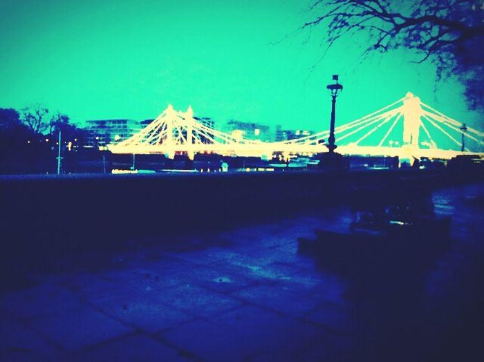 Pretty Light Bridge In London