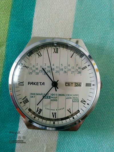 Streamzoofamily TheVille Watch Old Watch Raketa Paketa Wristwatch