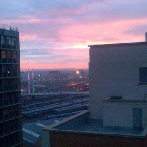 Nofilter AfterItRained Bramfontein Sunset #MandelaBridge