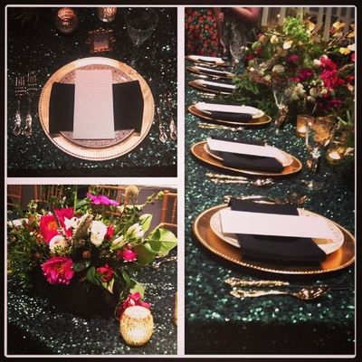 Beautiful head table at Thenotwedding . Sbeevents team loved the event. Thesouthernweddingexperience Weddingsatlanta