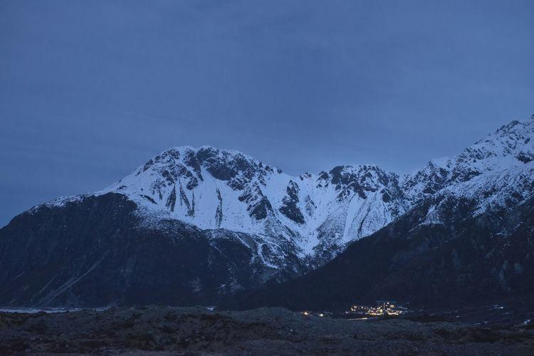 The Aoraki/Mt
