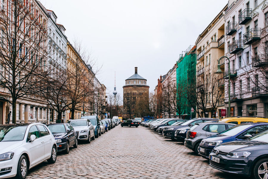 Straight on through .. All Streets Architecture Berlin Building Building Exterior Built Structure Church City City Life Composition Exterior Façade Historic History Outdoors Perspective Prenzlauerberg Residential Structure Tower