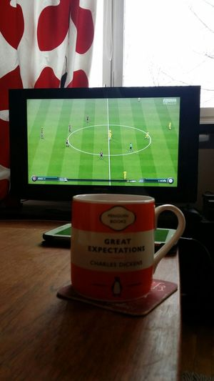 Relaxing Taking Photos Enoying My Day Off Fifa15 Coffee Xbox One