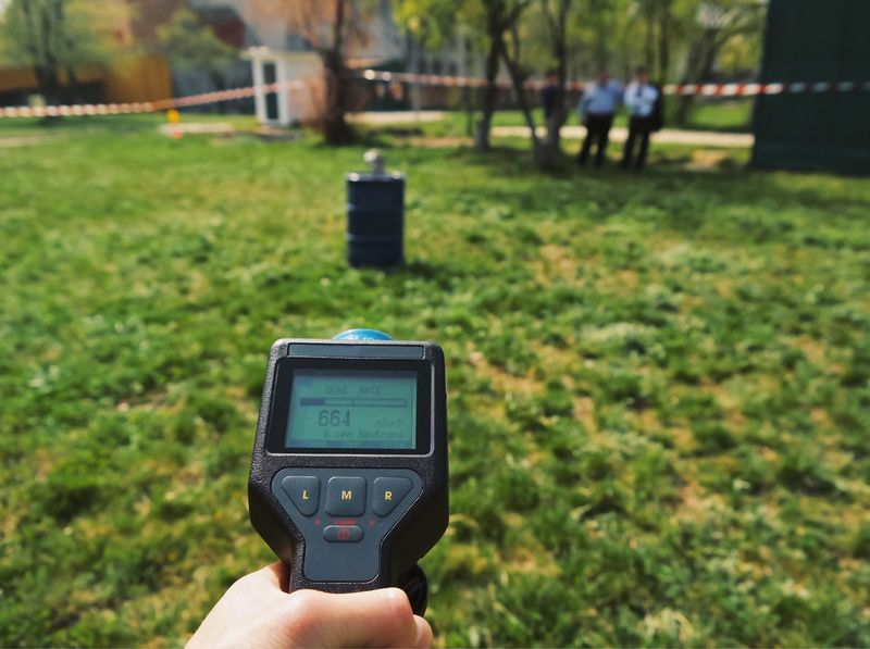 Counting radiation dose ⚠️... Digital Display Technology Holding Focus On Foreground Human Body Part Human Hand Detector Detecting Detection Radiation Hazard Hazardous Science And Technology Radioactive Radiology Outdoors Police Police At Work Law Enforcement Protection Nature Radioactivity Device Device Screen Display AI Now