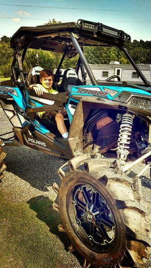 I'm enjoying my 7 days off with my Son. We spent some time cleaning up the Rzr1000. Outdoors Mode Of Transport Christian Kustomz Check This Out Taking Photos Appreciating This Moment Home My Son Off Roading Mudding Probox Blue