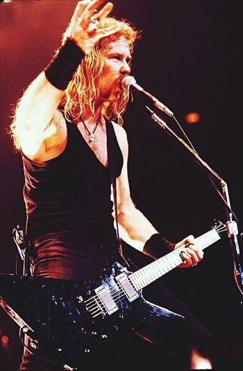 James Hetfield Batya Het Papa Het Metallica
