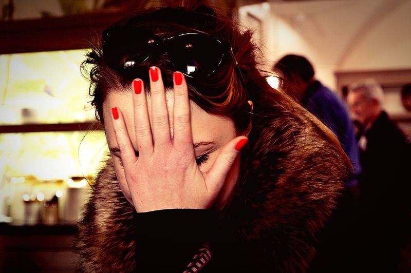 Hide And Seek Check This Out Taking Photos Red Hand Nailpolish Enjoying Life Hello World Captured Moment
