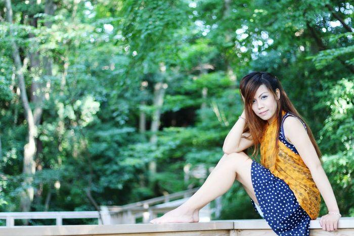 Me at Mion Sawa, Saitama, Japan.photo credits to Kazumi Saito