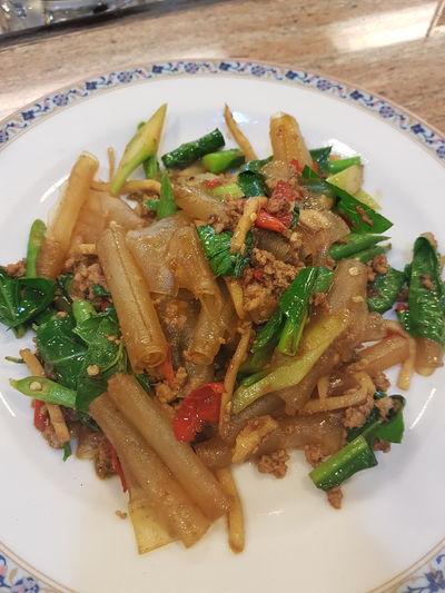 เซี่ยงไฮ้ผัดขี้เมา Food Meal Bangkokeater Street Food Worlwide Thaifoods Thai Food Noodles Street Food Thailand