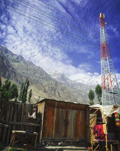 Pakistan Traveling Travel Photography Taking Photos Blue Bluesky Heaven Heaven On Earth Hunza Hunza Valley Pakistan Mountains Mountain View Mountains And Sky Mountain_collection Mountain Range Mountain