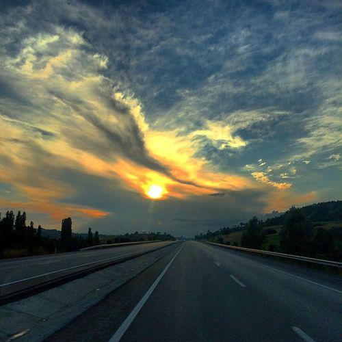 Afyon Onroad Oncar Landscape Seferi Clouds Clouds And Sky Turkey