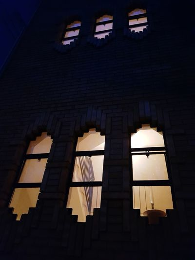 Windows Night Lights Night In The City Windows And Light Windows At Night City History Architecture Built Structure