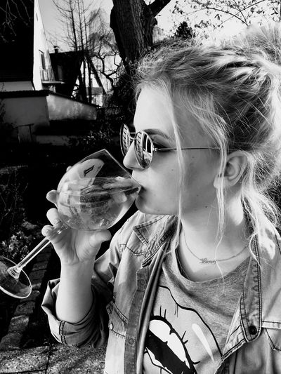a perfect drink for warm spring days 🍹 Girlsbelike Spring Sunscomingout First Eyeem Photo