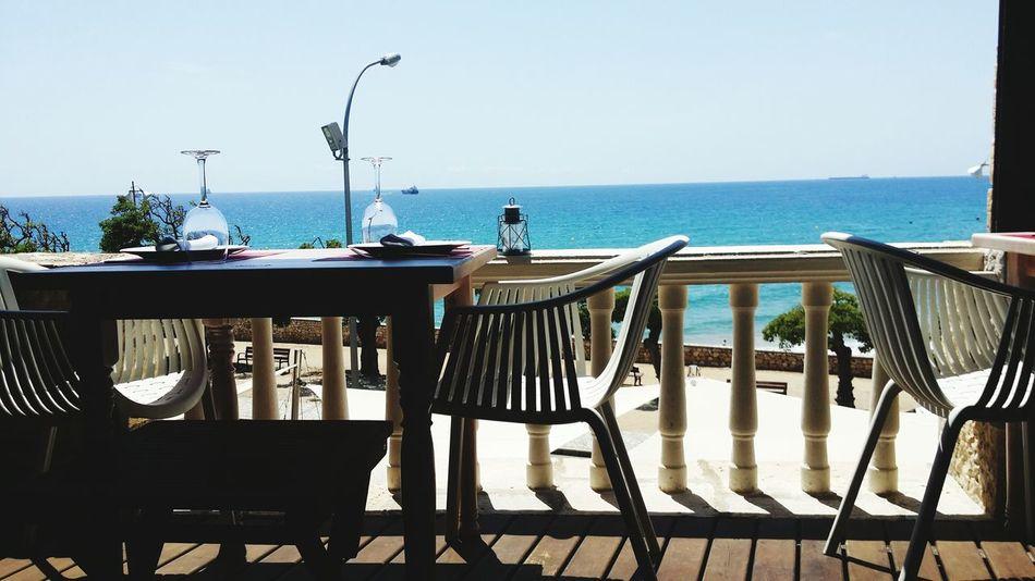 SPAIN Sneakpeak Soon More Info 2016 Holiday Sea Romantic Restaurant Beach Sun 30°c Hot Weather Sunburnt Food Love Stay Awesome
