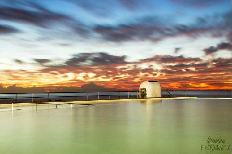 Australia Coastalimage Beach Sunrise Merewether Longexposure Long Exposure