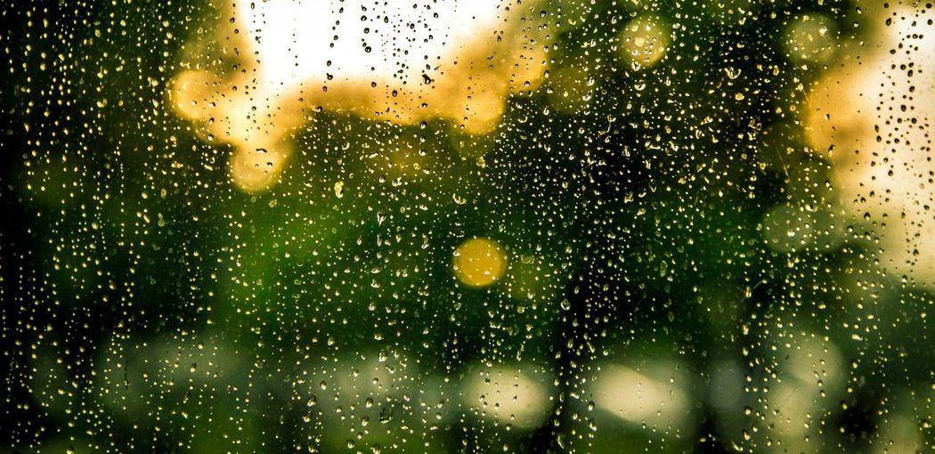 Rainy Day Raindrops On My Window First Eyeem Photo