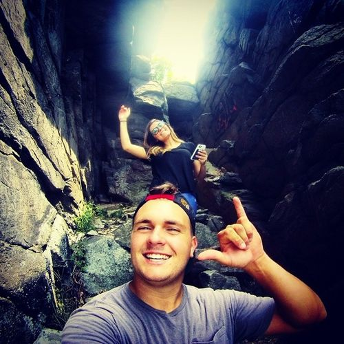 Thanks @jennahutchins for showing me this spot yesterday. What a blast. Harpersferry Mountains 127hours Gopro beahero hero3 goproselfie goprofamily goprophotograpy goprophotoshop hangloose travel hiking