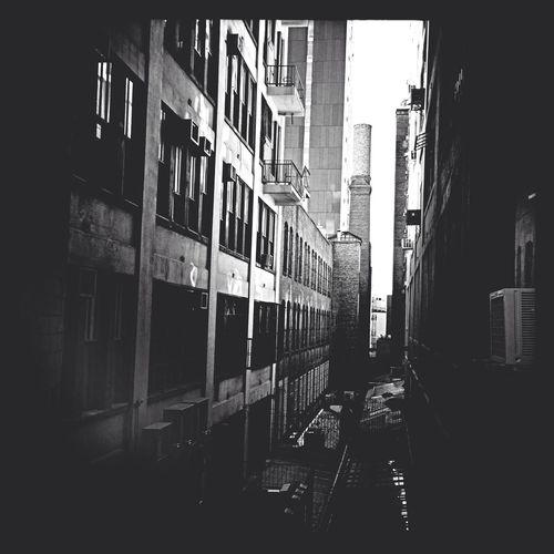 Highline Alley ~ NYC 2014 Blackandwhite Architecture EyeEm Bnw AMPt_community