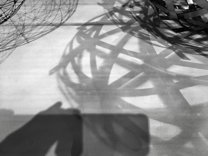 Geometry of shadows Abstract Black And White Geometry Gray Grayscale Pattern Shadow Shape