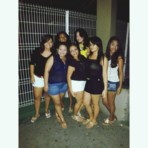 The party , ! :) Mygirls♡ Ms Theleves Truefriends