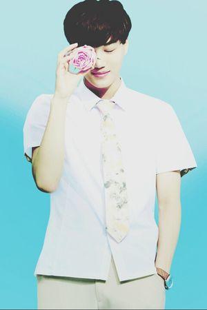 flower boy♥ Kai Kim Jongin EXO Kpop cr:owner