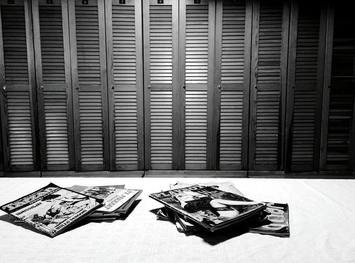 Day 273 - Experiencing Finnish sauna Helsinki Blackandwhite Sauna Lockers 365project 365florianmski Day273