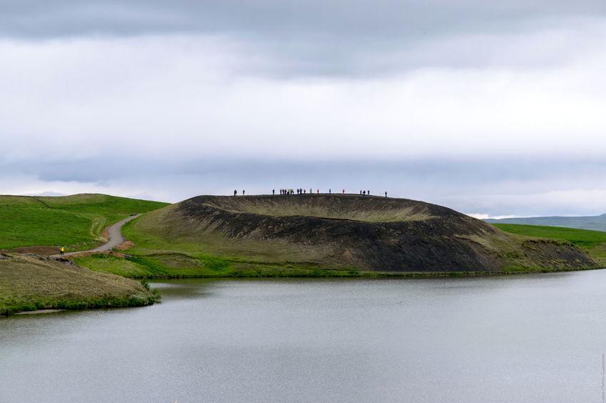 Mývatn, Skútustaðir Iceland Myvatn Volcano
