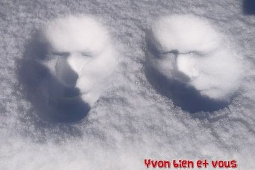 snow Yvonbien Snow 3D France Cold Adults Only People One Person Headshot Human Face Portrait Outdoors