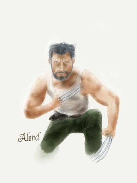 New drawing, Logan 😀 Art Logan Wolverine Marvel Digitalart  Superhero Drawing Draw Paper53 Paperby53