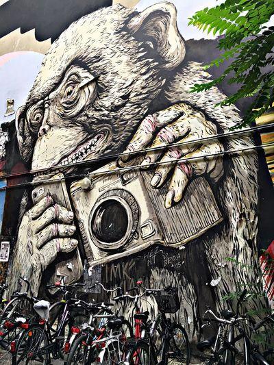 Wild about Photography... Graffiti Art EyeEmBestPics Eye4photography  Street Photography Artistic Expression Colorphotography Building Art Hackescher Markt Summer 2016 Traveling Texan Gal My Holiday 2016