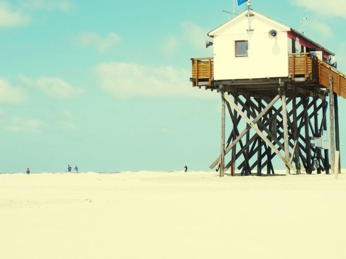 A beach so wide Summer Views Beach Life Taking Photos Check This Out Simplicity Landscape_Collection St. Peter-Ording Canon Beach Photography Canon Pastel Power