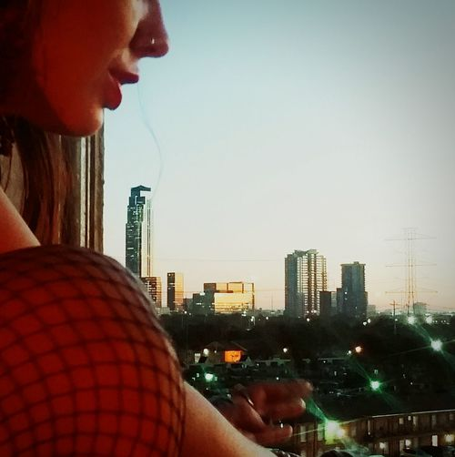 Checking In Hanging Out Enjoying The View My Crows Nest. Day Break. Sunrise Houston Jedininja