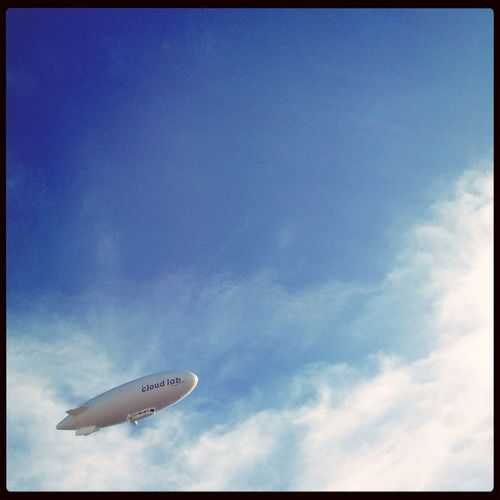 Cloud Lab Blimp Dirigible Airship
