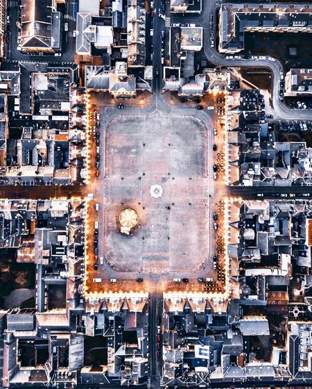 Aerial View Architecture Backgrounds Building Exterior Built Structure Circuit Board City Cityscape Computer Chip Connection Day Directly Above First Eyeem Photo Full Frame High Angle View Industry Mother Board No People Technology