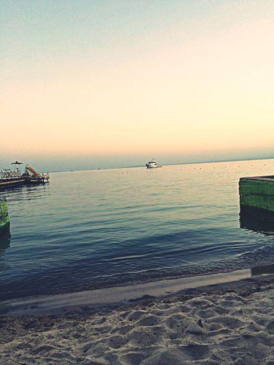 Relaxing Sea Sunset Hurghada Swimming