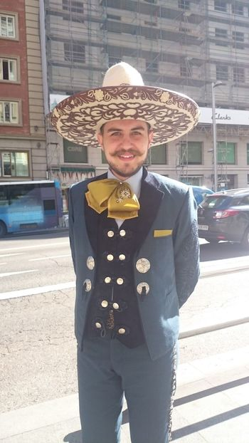 Traje Típico Charro Traditional Costume Charro Hat Sombrero Chapeau