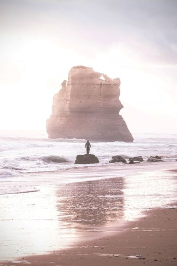 Magog on the Australian Coast IG @noeldxng Rock Land Sea Water Beach Rock Formation Sky Beauty In Nature Nature Scenics - Nature Day Outdoors Australia Landscape Port Campbell National Park Victoria Seascape A New Beginning